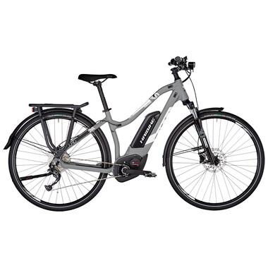 Bicicletta da Viaggio Elettrica HAIBIKE SDURO TREKKING 3.0 LOW-STEP Donna Grigio/Bianco 2019